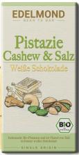 Edelmond Pistazie Cashew+Salz Weiße Schokolade