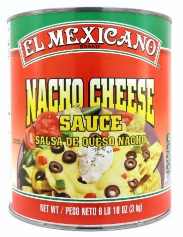El Mexicano Nacho Cheese Sauce Salsa de Queso Nacho 3000G