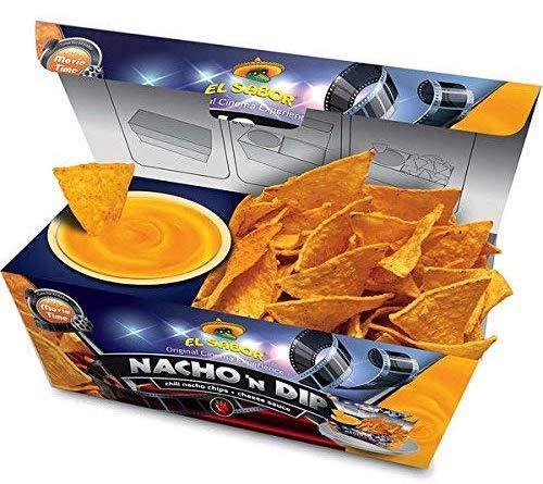 El Sabor Nacho n Dip Kiste Chips mit Sauce