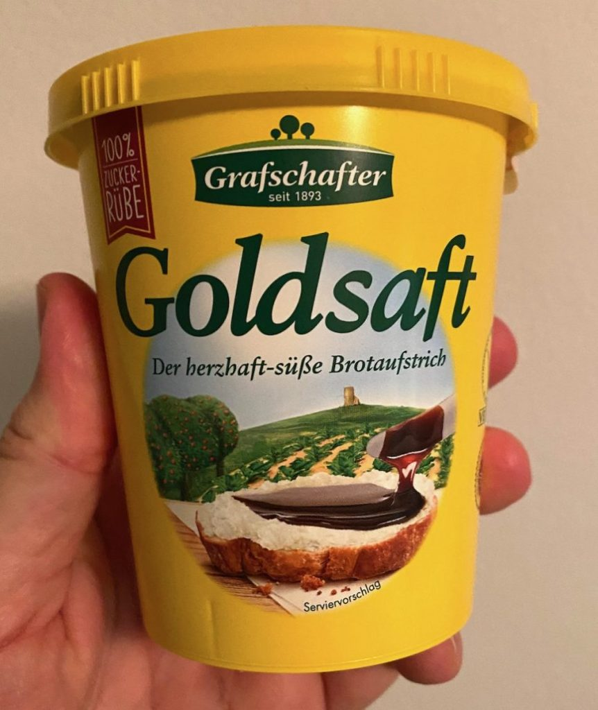 Grafschafter seit 1893 Goldsaft Der herzhaft-süße Brotaufstrich aus der Zuckerrübe