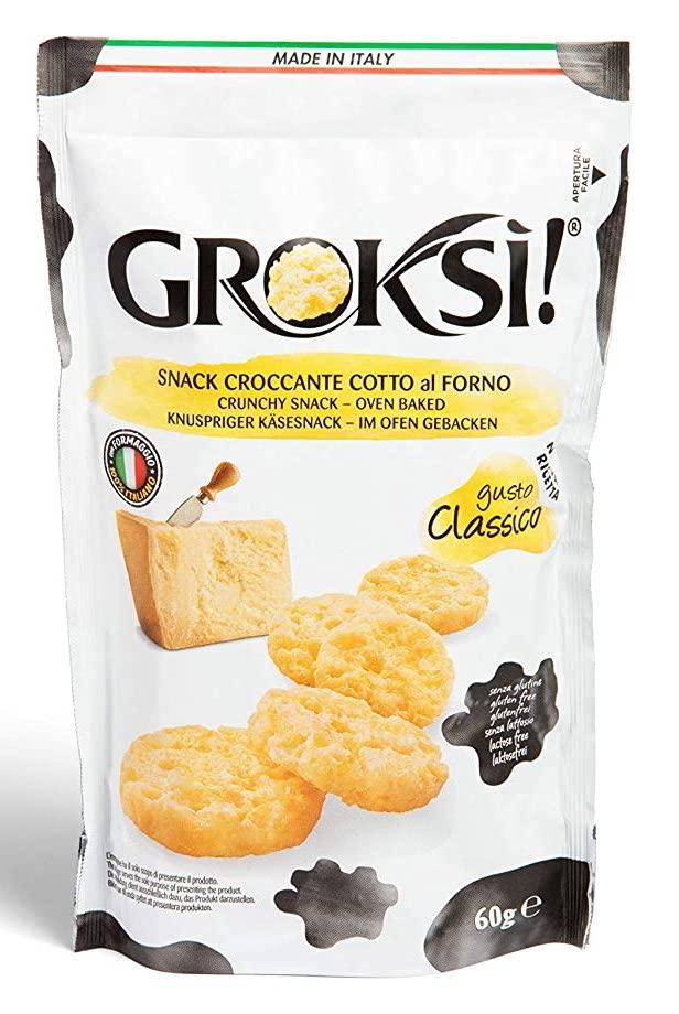 Groksi Snack Croccante Cotto al Forno 60G