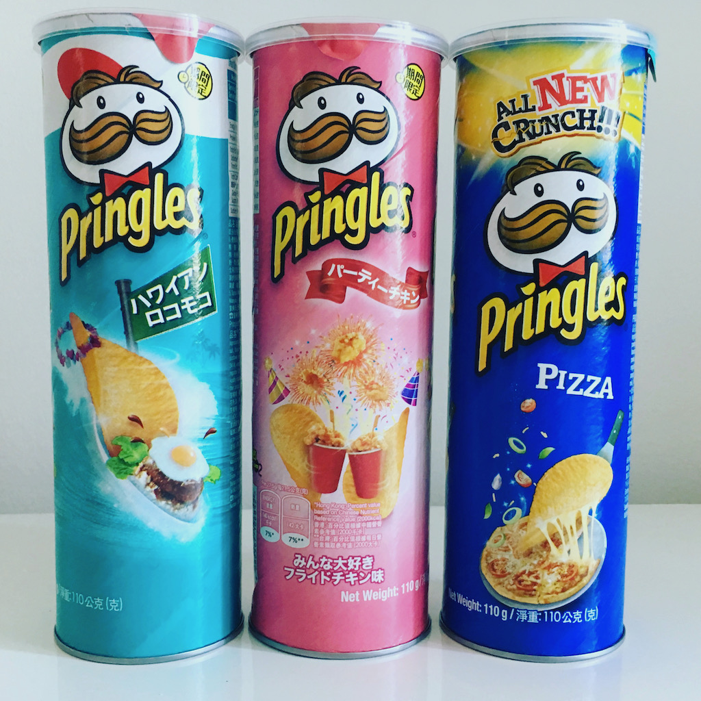 Pringles asiatisch Spiegelei – Chicke Pops-Pizza 110G