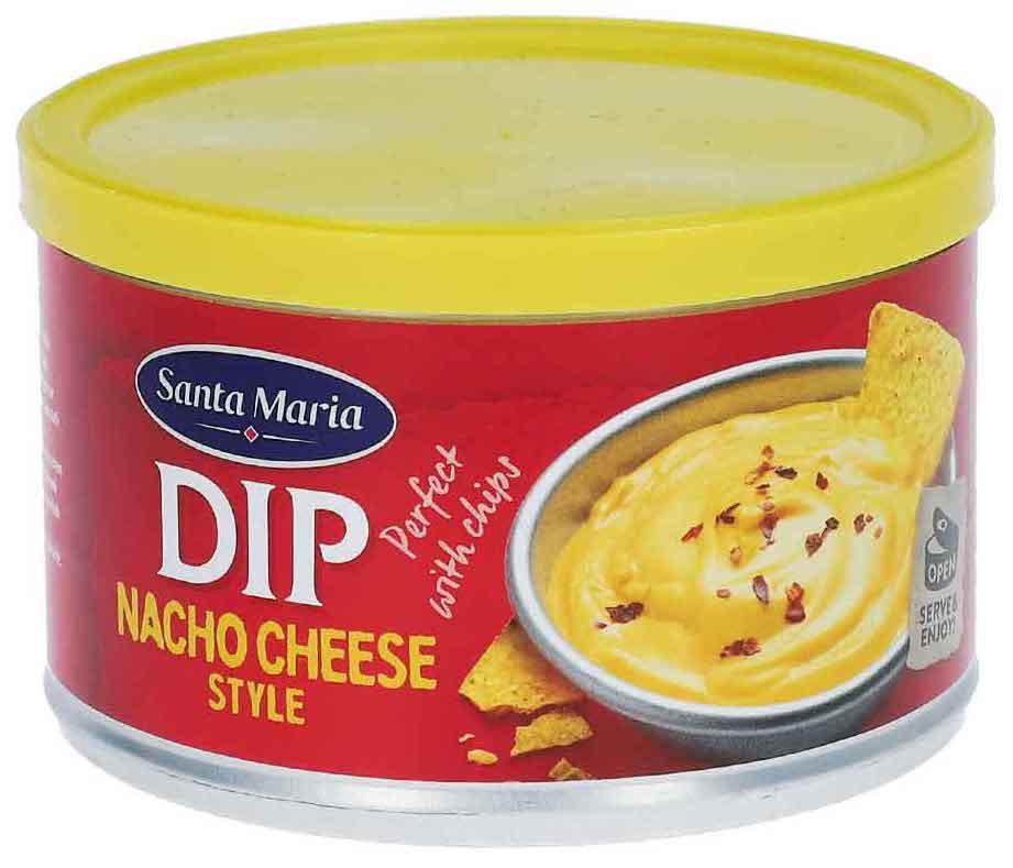 Santa Maria DIP Nacho Cheese Style Perfect with Chips 250g
