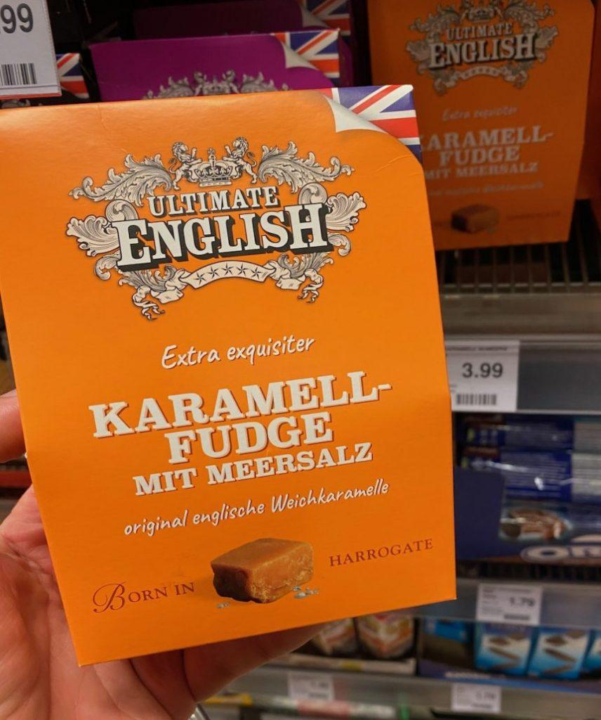 Ultimate English Extra exquisiter Karamell-Fudge mit Meersalz Harrogate