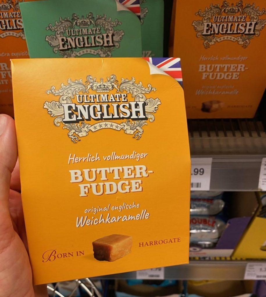 Ultimate English Herrlich vollmundiger Butter-Fudge Original englische Weichkaramelle