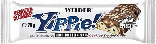Weider Yippie Proteinriegel Cookiesdouble Choc 70g