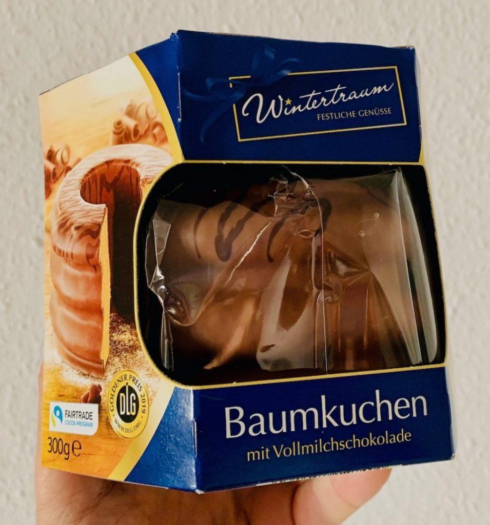 Wintertraum Baumkuchen mit Vollmilchschokolade 300G