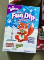 Wonka Fun Dip Fun Book Cherry Yum Diddl Dip und Razza Apple Magic Dip