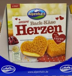 Lidl Alpenhain Unsere Back-Käse Herzen 6er