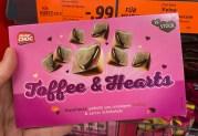 Lidl Mister Choc Toffee+Hearts 15er