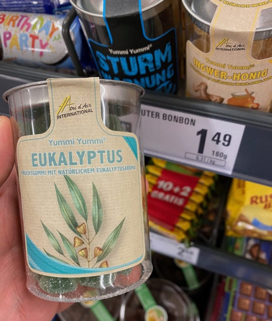 Tri d'Aix Yummi Yummi Eukalyptus Fruchtgummi Dose