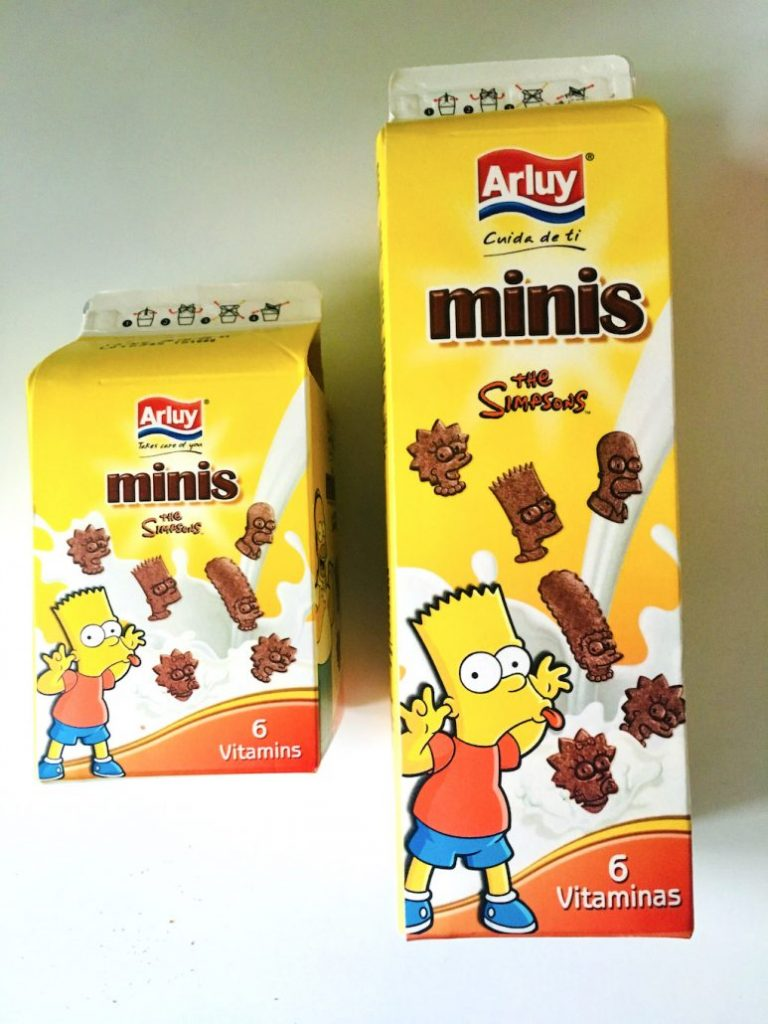 Arluy Minis The Simpsons Kekse Bart