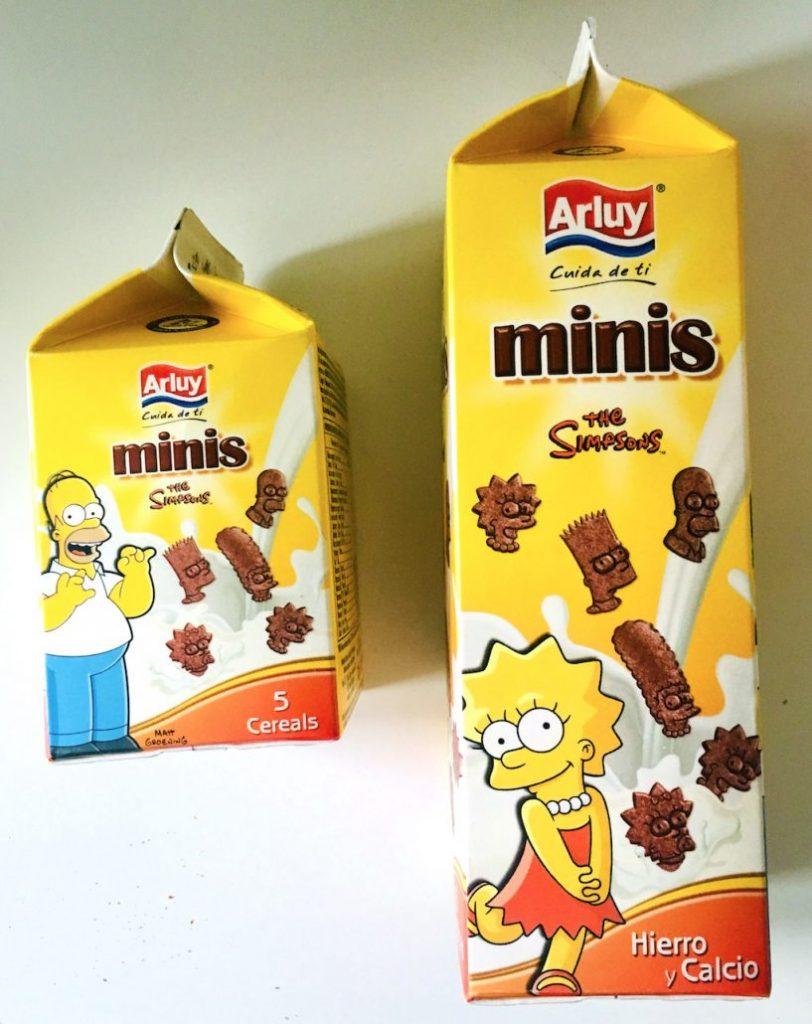 Arluy Minis The Simpsons Kekse
