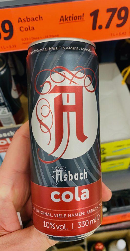 Asbach Cola Dose
