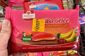 Berggold KiBa Gelee mit Bananensaft