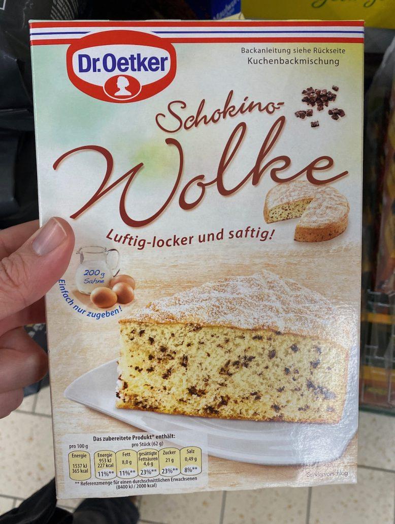 Dr. Oetker Schokino-Wolke Backmischung