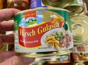 Gutes aus der Eifel Hirsch Gulasch in einer pikanten Soße Konserve