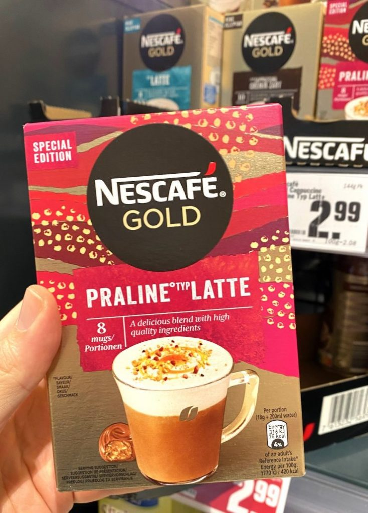 Nescafé Gold Praline Typ Latte 8er