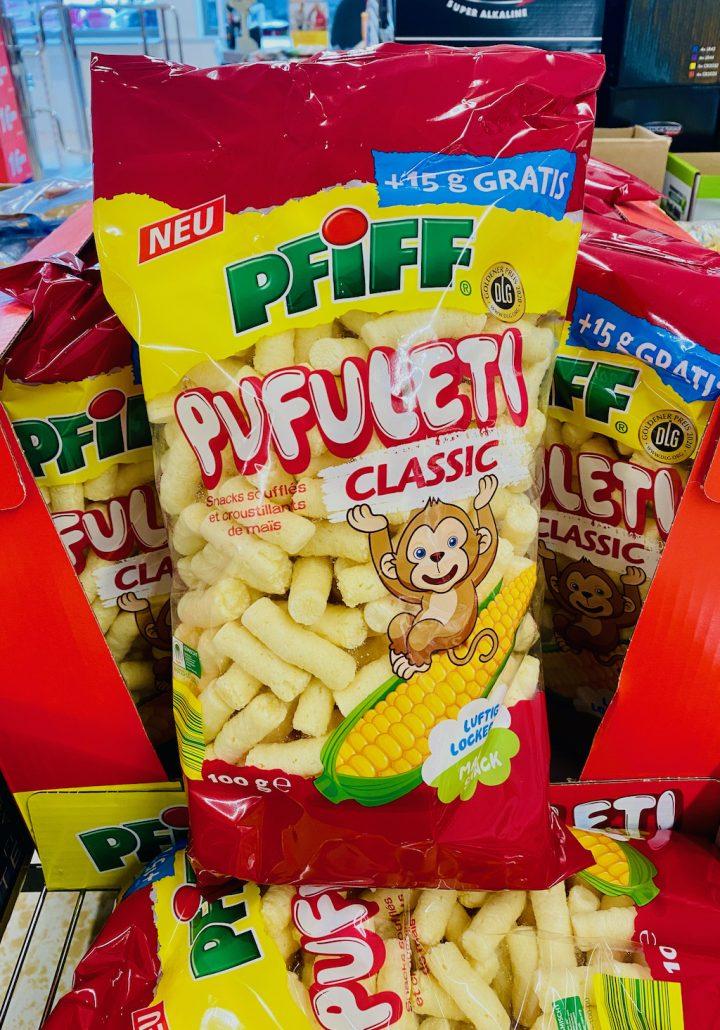 Pfiff Pufuleti Classic Maissnack 100G