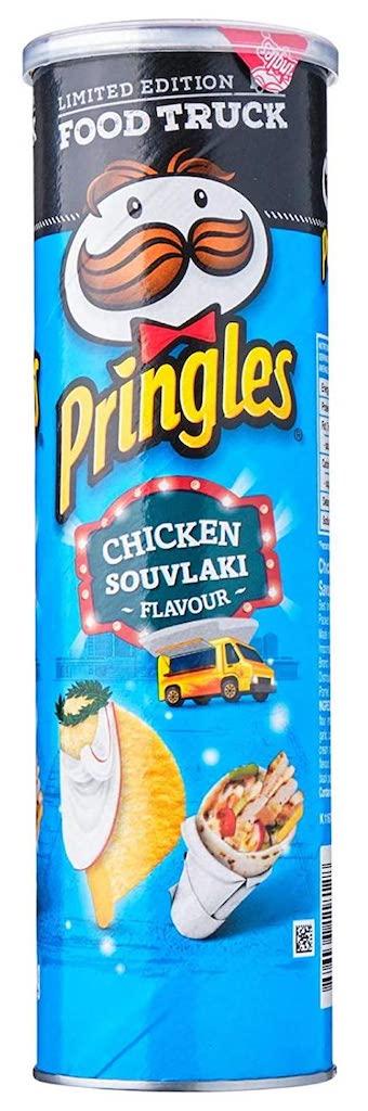 Pringles Food Truck Chicken Souvlaki Flavour Australia