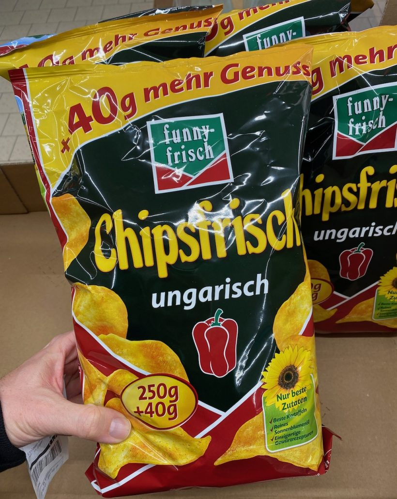 funny-frisch Chipsfrisch ungarisch 250+40Gramm
