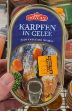 Dovgan Karpfen in Gelee 180G Konserve