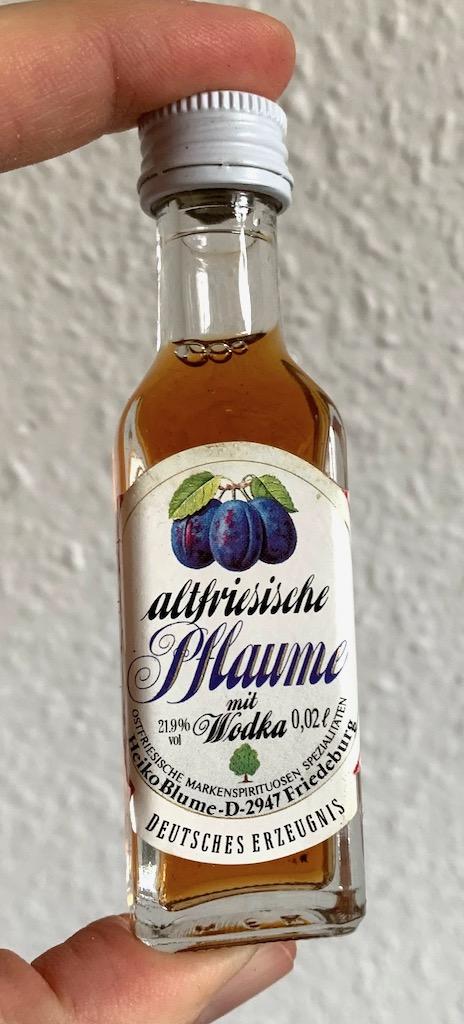 Heiko Blume Altfriesische Pflaume mit Wodka