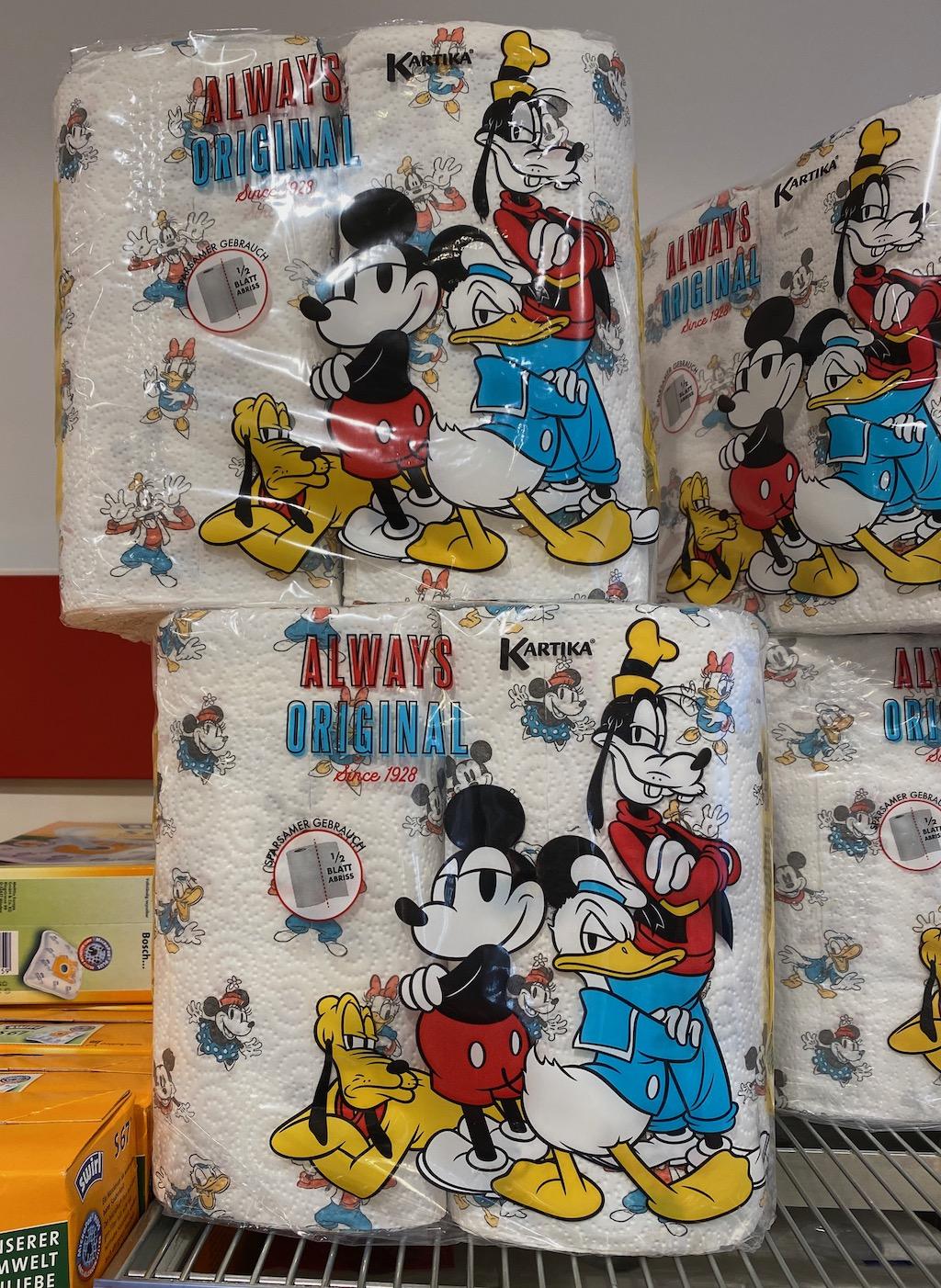Kartika Always Original Küchenpapier Mickey Maus-Motiv