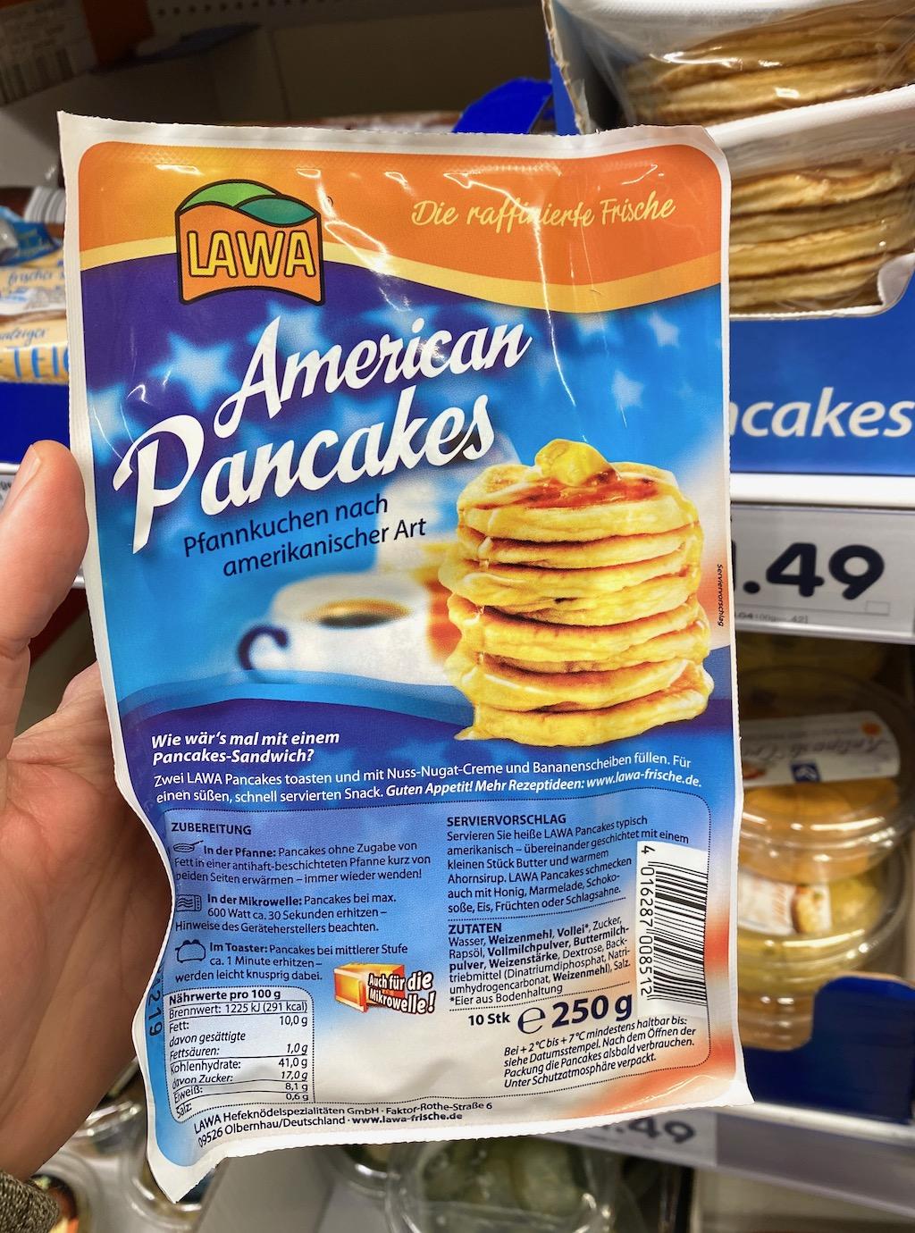 Lawa American Pancakes 250G
