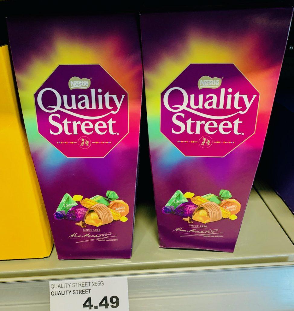 Nestlé Quality Street Neue Verpackung
