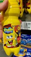 SpongeBob Schwammkopf Kids Cola Plastikflasche