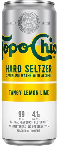 Coca Cola Topo Chico Hard Seltzer Tangy Lemon Lime