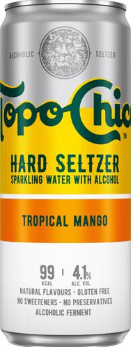 Coca Cola Topo Chico Hard Seltzer Tropical Mango