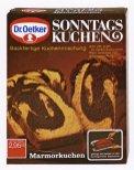 Dr. Oetker_1971_Erstes Backmischung Sonntagskuchen Marmorkuchen