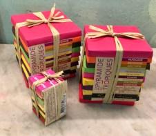 Francois Pralus Pyramide des Tropiques Schokoladenpakete Herkunftsschokolade