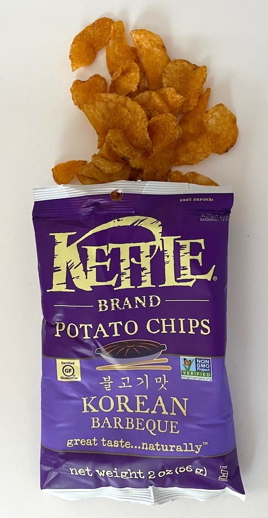 Kettle Potato Chips Korean Barbeque 56G offen