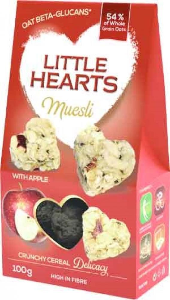 Little Hearts Muesl Bites Apple-hia 100g