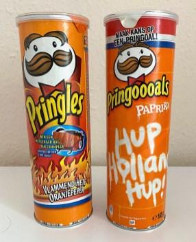 Pringles Holland Vlammend Hete Oranjepeper-Hup Holland Hup
