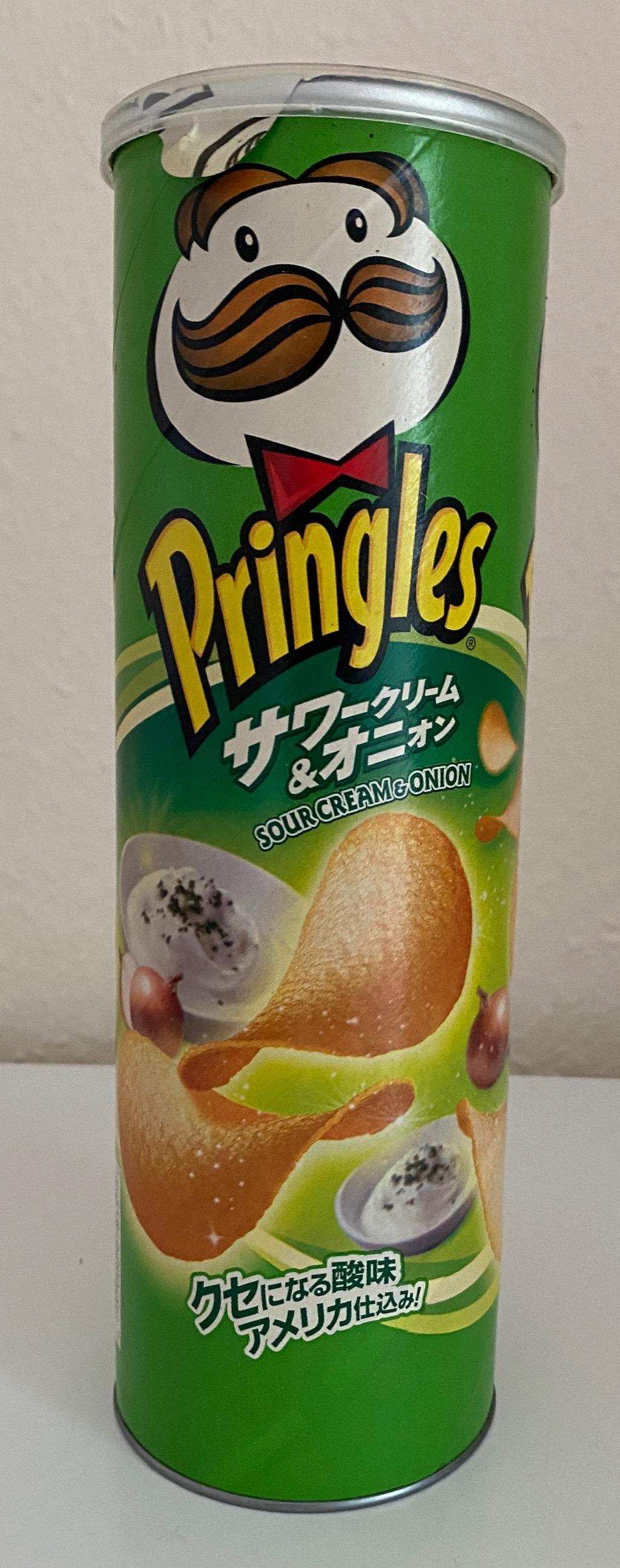 Pringles Sour Cream+Onion Asiatisch