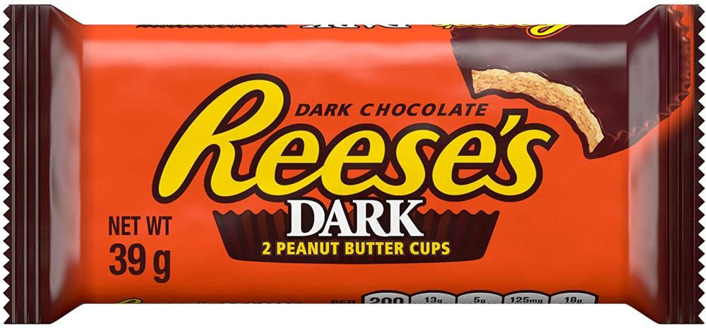 Reeses Dark Peanutbutter Cups 39g