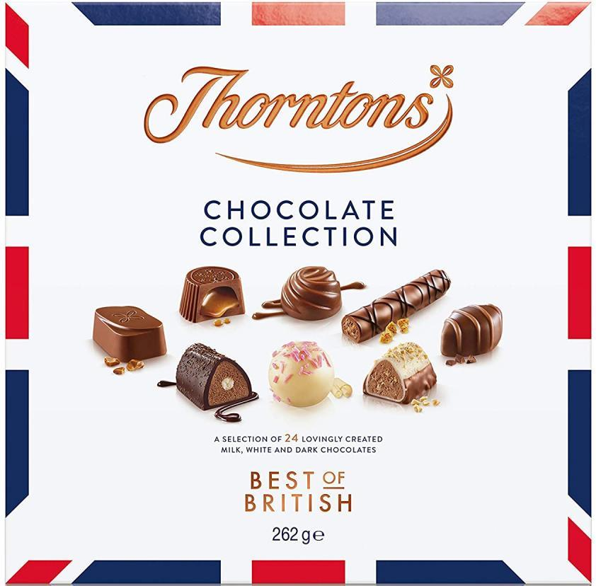 Thorntons Chocolate Collection Best of British 248g