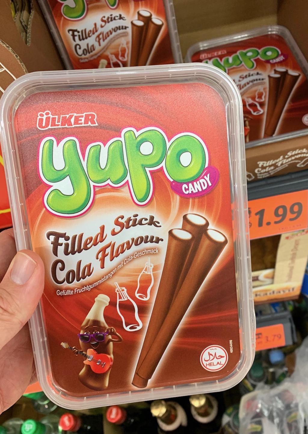 lker Yupo Fruchtgummi Sticks Cola