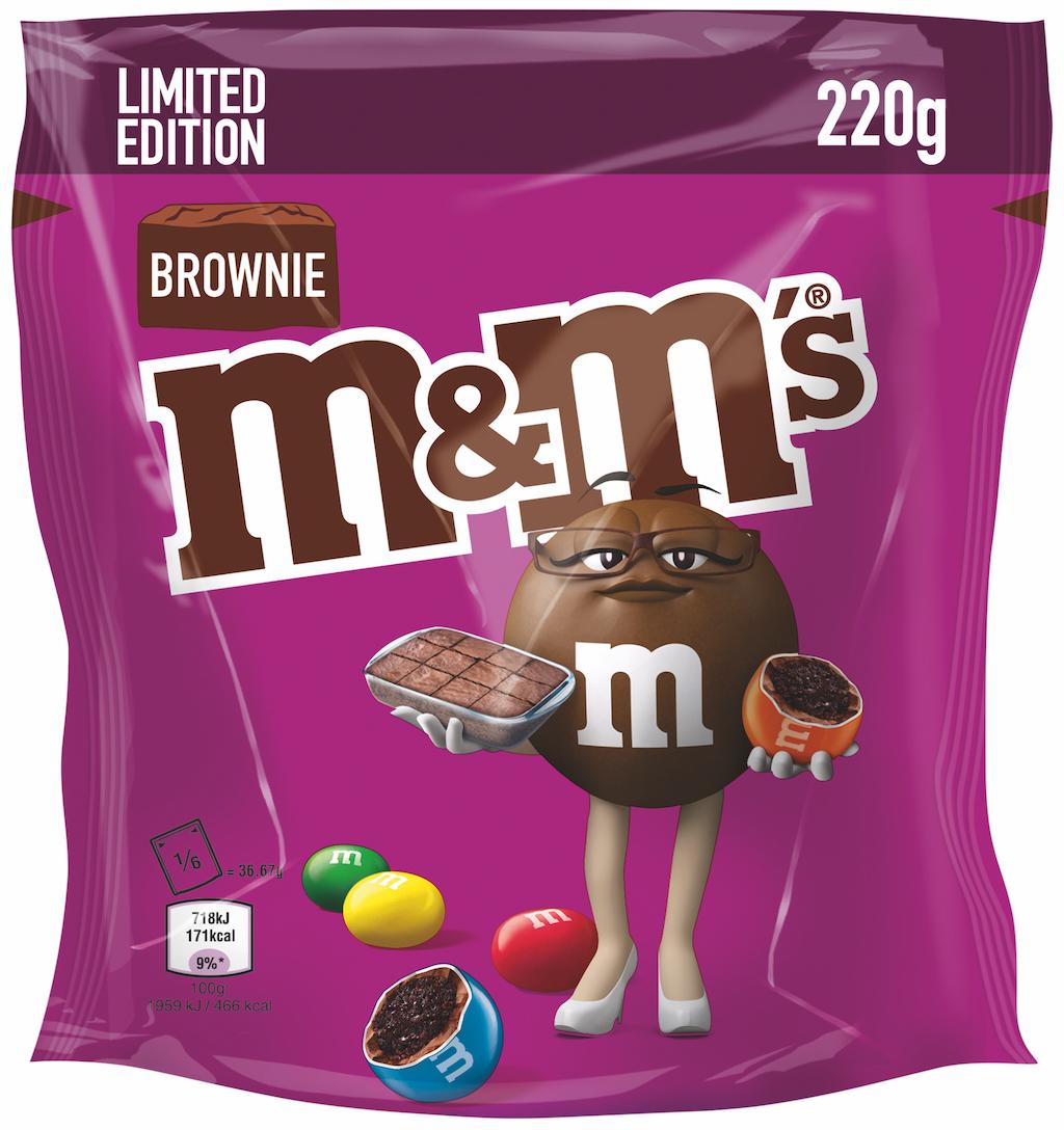 M+Ms von Mars mit Brownie-Geschmack.