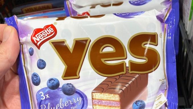 Nestlé YES Blueberry Edition 2021 3er