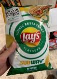 Pepsico Lay's Iconic Restaurant Flavours Subway Teriyaki
