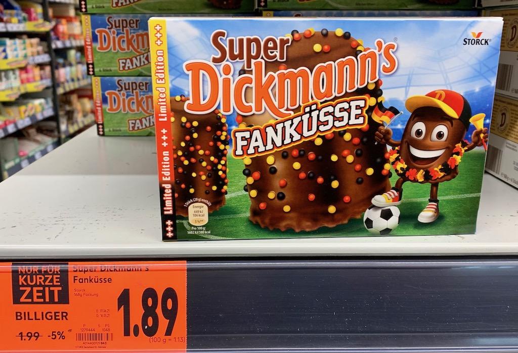 Storck Super Dickmanns Fanküsse