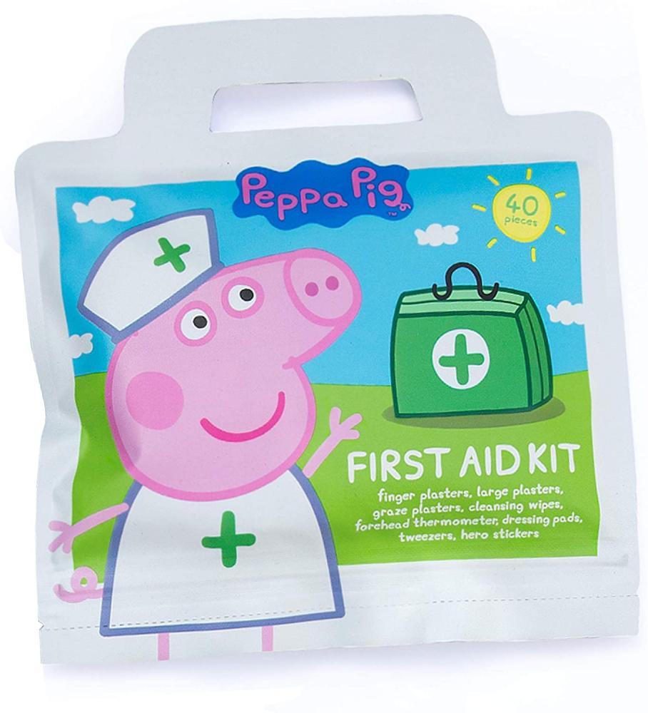 Ein Erste Hilfe-Köfferchen mit dem Peppa Pig-Motiv