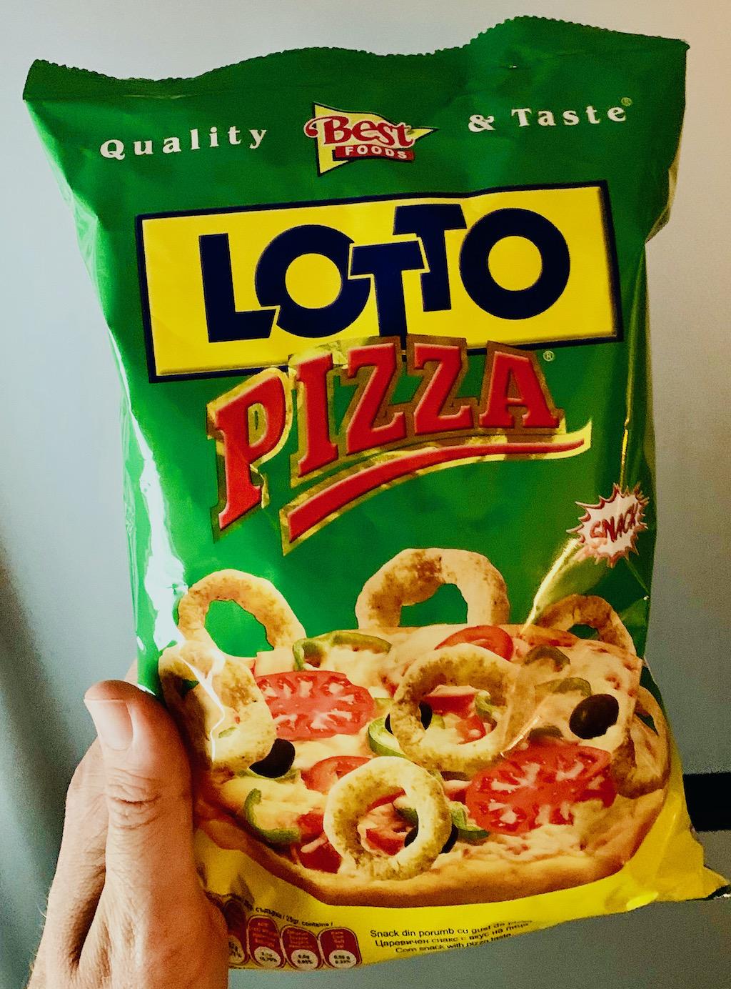 Best Foods Lotto Pizza Kringel Snack