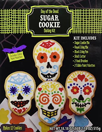 Day of the Dead Sugar Cookie Baking Kit 616G Halloween
