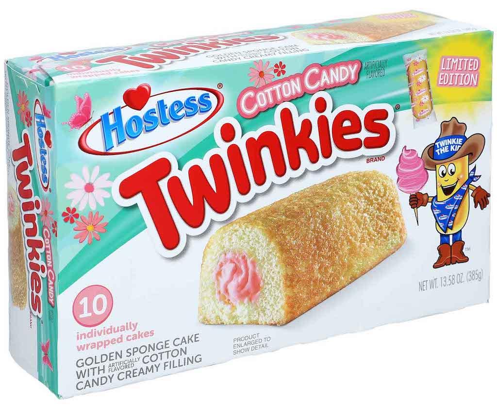 Hostess Twinkies Cotton Candy 10er